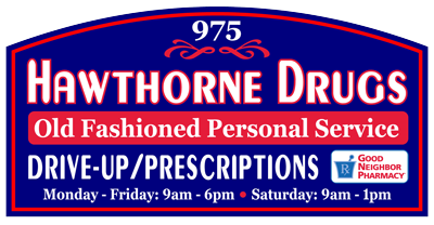 Hawthorne Drug Co. Logo